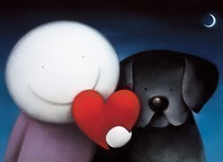 We Share Love by Doug Hyde - Limited Edition on Paper sized 22x16 inches. Available from Whitewall Galleries